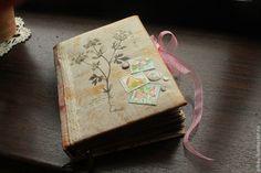 """Купить Блокнот ручной работы """"С нежностью...."""" - блокнот, розовы, необычный подарок, подарок"""