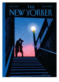 The New Yorker Cover - September 15, 2008 by Eric Drooker. Giclee print from Art.com.