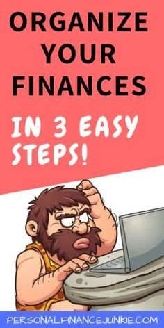This simple 3 step system teaches you how to organize finances so you reach your financial goals faster. Organizing finances does not have to be difficult. This article makes personal financial record keeping a breeze! Budgeting Worksheets, Budgeting Tips, Finance Books, Finance Tips, Financial Goals, Financial Planning, Finance Organization, Money Management, Personal Finance