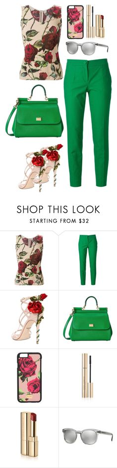 """""""Just D&G"""" by cksusha ❤ liked on Polyvore featuring Dolce&Gabbana"""
