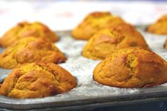 Low Fat Roasted Butternut Squash Muffins