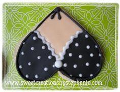 Bikini top cookie cutter excellent idea