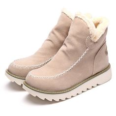 c3a173b0764c Pyrenees Fleece Ankle Boots in 2019 | Products | Shoes, Fashion, Boots