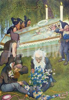 1911 Snow White illustration