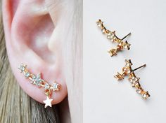Shop put  favorites, we often have discounts and promotions! Pls, keep an eye on the store - https://www.etsy.com/ru/shop/EarringsEarcuffs      I make a gift with every order :)        There are no boundaries for perfection. That is why ladies tirelessly looking for all sorts of ways to make your ensemble a unique, individual, unique. Recent, but cheap earrings will help bring the image of the elegant and non-trivial notes. What is the allure and charm of this accessory? In fact, online…