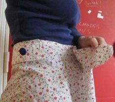 Tuto jupe facile avec taille adaptable