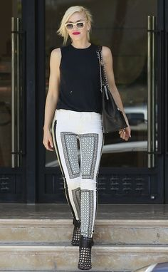 Gwen Stefani style. Another celebrity style crush!