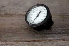 Vintage Weathered Metal Gauge by Heritage1956