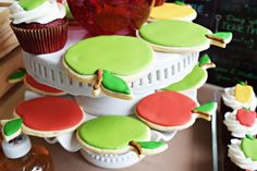Apple of My Eye themed birthday party via Kara's Party Ideas KarasPartyIdeas.com #appleofmyeye (12)