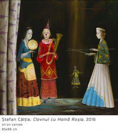 #38 Clovnul cu Haina Rosie  Stefan Caltia