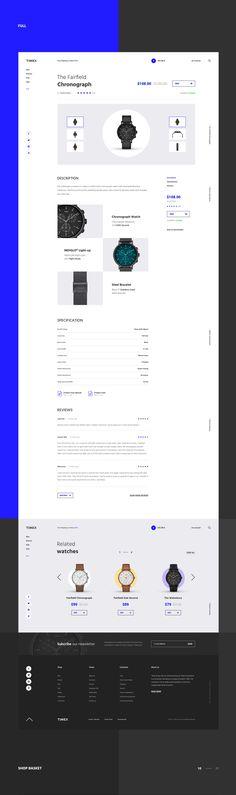 Timex - Watch Shop on Behance