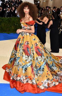 The Best Dresses at the 2017 Met Gala - Zendaya in Dolce & Gabbana