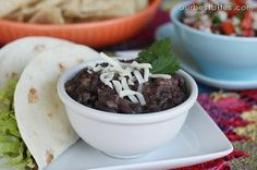 Our Best Bites: Quick and Easy Black Beans -- I never knew something as simple as black beans could be so tasty. These were fab.
