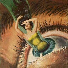 Psychedelic Jungle - Walter Popp 1954 #dailyconceptivo #diarioconceptivo | via - www.HippiesHope.com
