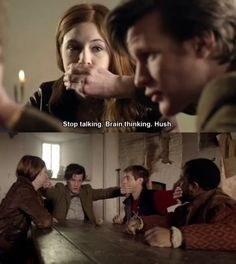 Again Moffat... There seems to be a little too much Sherlock in my Doctor