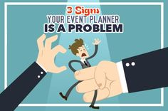 Here are a few signs to look out for when hiring an event planner that can be red warning flags! #Eventplanning #Eventprofs