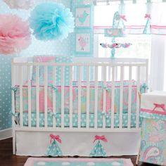Nautical crib bedding girl designs nursery l baby babies r us Nautical Crib Bedding, Custom Baby Bedding, Baby Girl Crib Bedding, Baby Cribs, Aqua Bedding, Comforter Set, Baby Bedroom Sets, Nursery Bedding Sets, Nursery Crib