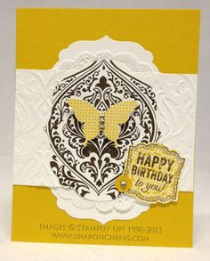 Beautifully Baroque Butterfly Card by ccc - Cards and Paper Crafts at Splitcoaststampers