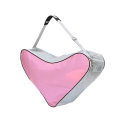 Mesh Cloth Tote Bag Skating Triangle Bag Umh?ngetasche Hochleistungspaket (Pink)