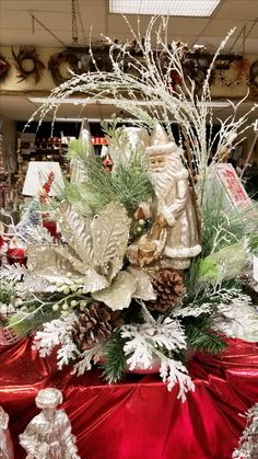 Christmas Floral Arrangement from our Dover Floral Department. Christmas Floral Arrangements, Fresh Flowers, Christmas Wreaths, Special Occasion, Birthdays, Valentines, Holiday Decor, Gifts, Beautiful