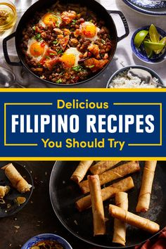 28 Filipino Recipes That Are Absolutely Worth Feasting On - Sarah Kaushik - 28 Filipino Recipes That Are Absolutely Worth Feasting On Best Filipino Recipes: Dinners, Desserts, And Drinks - Best Filipino Recipes, Filipino Dishes, Filipino Desserts, Filipino Food, Filipino Pancit, Filipino Culture, Cuban Recipes, Steak Recipes, Veggie Recipes