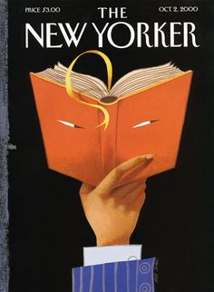 Illustration Cover by Ana Juan, 2000, The New Yorker.