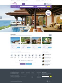 Travel Website by Sunil Joshi #travel #website