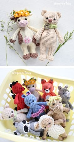 Irresistible Crochet a Doll Ideas. Radiant Crochet a Doll Ideas. Crochet Elephant Pattern, Crochet Animal Patterns, Crochet Patterns Amigurumi, Crochet Animals, Crochet Dolls, Crochet Yarn, Knitting Patterns, Sewing Stuffed Animals, Stuffed Animal Patterns