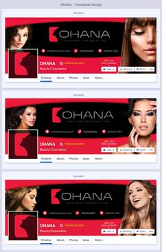 OHANA FACEBOOK PAGE by The JA Designs