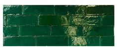 Moroccan Green Tiles from Badia Design Inc. - the tiles used in the kitchen I love