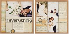 """You Are My Everything"" #scrapbook layout #CTMH."