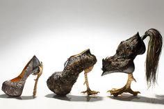 Masaya Kushino's Bird-Inspired Shoes Are Pretty Fly