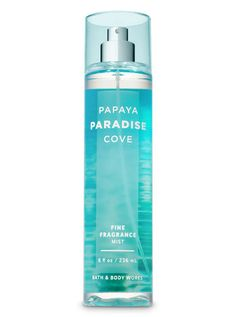 Body Spray and Fragrance Mist Signature Collection – Papaya Paradise Cove Fine Fragrance Mist by Bath & Body Works Bath Body Works, Bath N Body, Bath And Body Works Perfume, Perfume Zara, Perfume Diesel, Best Perfume, Fragrance Mist, Fragrance Parfum, Up Dos