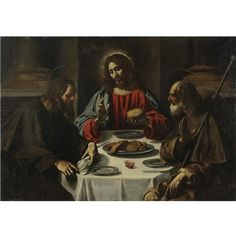 francisco de zurbar n the supper at emmaus 1639 museo. Black Bedroom Furniture Sets. Home Design Ideas