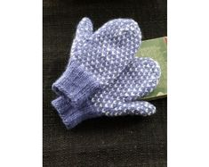 Nordic Mittens (Knit) - Lion Brand Yarn
