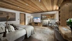 Diseño de Interiores & Arquitectura: Perla Chalet en los Alpes Franceses