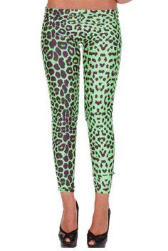 Leggings animal vert Léopard - leggings à imprimés motif léopard vert.   leggings Léopard Rose. Léopard Rose  Legging Imprimé ... 625a506c29af