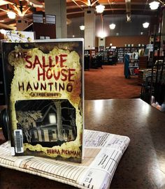#currentlyreading : The Sallie House Haunting by Debra Pickman. #bookstagram #book #library #librariansofinstagram #librarian #nonfiction
