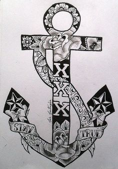 1000 ideas about navy anchor tattoos on pinterest anchor tattoos anchor tattoo design and. Black Bedroom Furniture Sets. Home Design Ideas