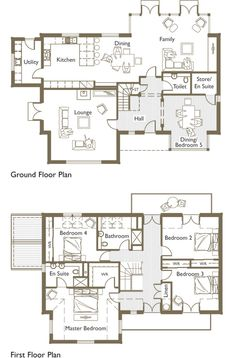 House plans golf course lots - House interior