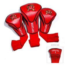 Maryland Terps NCAA 3 Pack Contour Fit Headcover