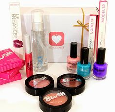 Beauty products in a box. Fashion Blog by Apparel Search