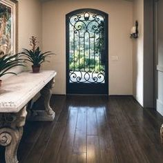 mediterranean entry by J. Grant Design Studio -- love this door