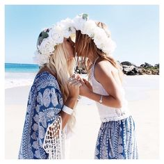 Mommy + Me  A precious moment with my sweet daughter Jade sharing our love of the ocean, mother nature and all things beautiful and divine  thank you so much @kapricoutureboutique for creating our stunning custom made matching outfits + flower crowns ✨ @bobbybense #preciousfamilymoment #love #mommyandme #kapricouture
