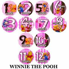 PINK WINNIE THE POOH Baby Month Onesie Stickers Baby Shower Gift Photo Shower Stickers, baby shower gift by OnesieStickers by OnesieStickers. $12.98. Flexible and tear proof allowing it to bend with the babies movement.. Extra durable adhesive is completely removable.. Baby month stickers are used placed on the baby's shirt, as a photo prop for pictures.. Adhesive sticker is super thin, and waterproof.. PINK WINNIE THE POOH Onesie stickers are great baby shower gift!...
