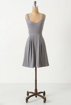 Nautical Bridesmaid Dress