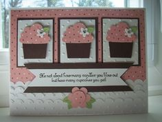 Counting Cupcakes - DS47 by Twinlynn - Cards and Paper Crafts at Splitcoaststampers