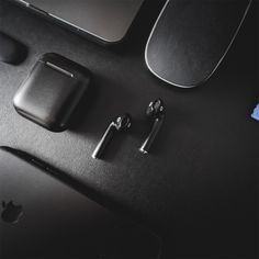 BlackPods Stealth Matte Black Apple AirPods 😮