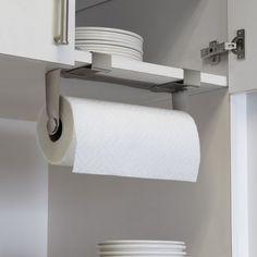 Luxury Under Cabinet Mount Paper towel Holder