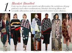 London Fall 2014 Trend Report: Blanket Bundled | Edited by Roopal Patel and Sarah Slutsky